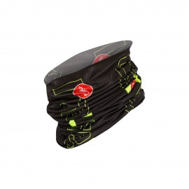 Cappello Castelli LW Head Thingy Nero Giallo Fluo