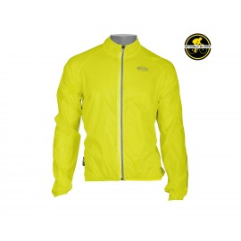 Mantellina Northwave Breeze Jacket Giallo Fluo
