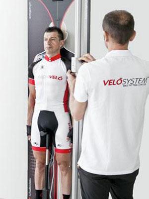Misurazione ciclista