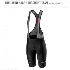 Pantaloncino Castelli Free Aero Race 4 Nero