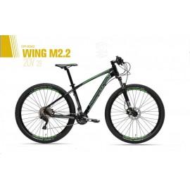 """Mtb Adriatica Wing M 2.2 29"""" Nero Verde"""