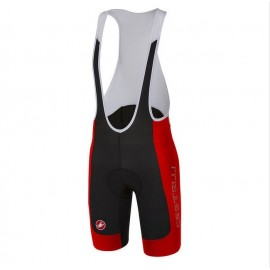 Pantaloncino Castelli Evoluzione 2 Nero Rosso